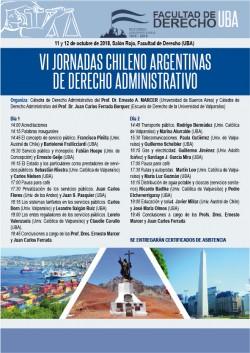 VI Jornadas chileno argentinas de Derecho Administrativo