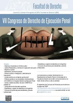 VII Congreso de Derecho de Ejecución Penal