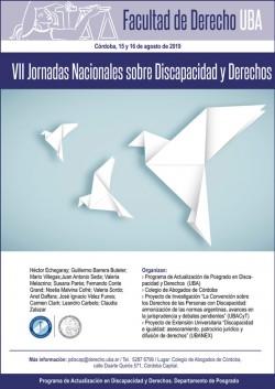 VII Jornadas Nacionales sobre Discapacidad y Derechos