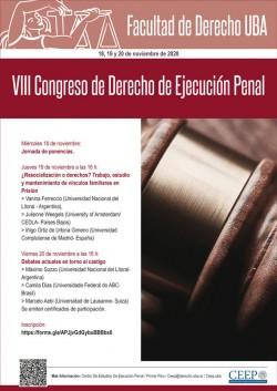 VIII Congreso de Derecho de Ejecución Penal
