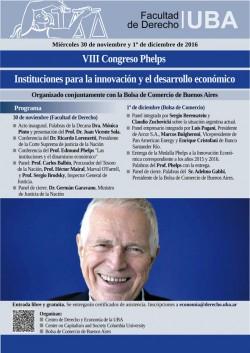 VIII Congreso Phelps: Instituciones para la innovación y el desarrollo económico