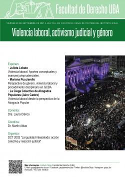 Violencia laboral, activismo judicial y género