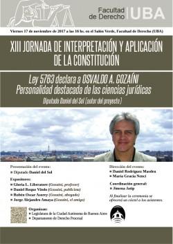 XIII Jornada de interpretación y aplicación de la Constitución