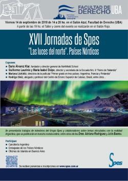 """XVII Jornadas de Spes """"Las luces del norte"""" Países Nórdicos"""