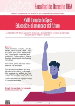 XVIII Jornada de Spes: Educación: el amanecer del futuro
