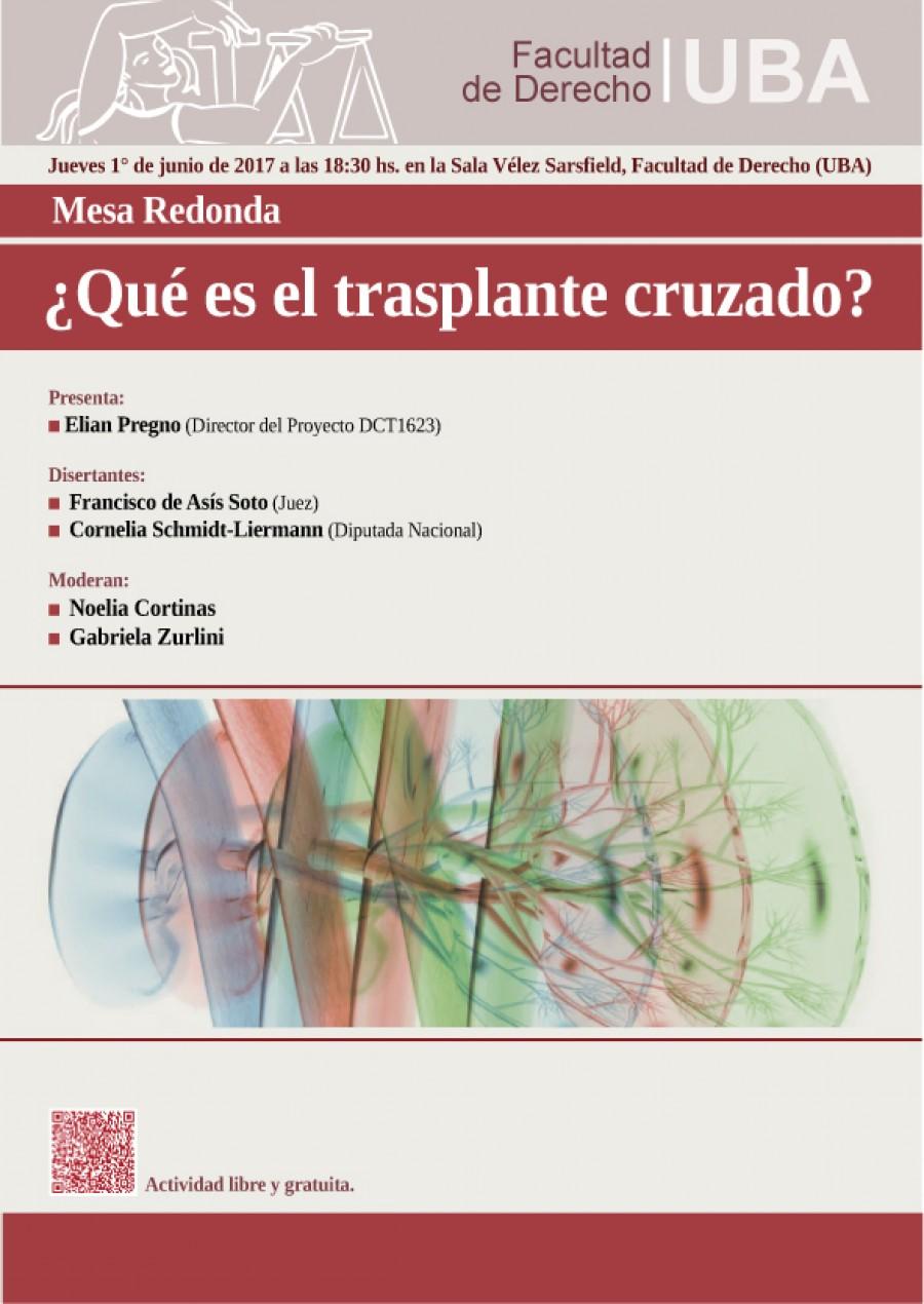 Mesa redonda qu es el trasplante cruzado facultad de derecho universidad de buenos aires - Que es mesa redonda ...
