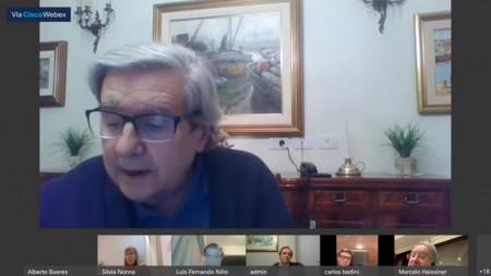 El decano Alberto Bueres presentó un informe sobre el desarrollo de actividades durante el período de aislamiento social, preventivo y obligatorio