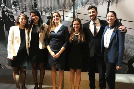¡El equipo de la Facultad de Derecho de la UBA se consagró campeón del Concurso de Simulación Judicial ante la Corte Penal Internacional!