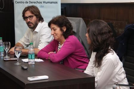 Encuentro de Derechos Humanos con Laura Ginsberg