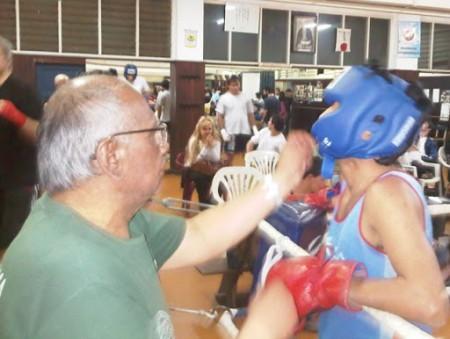 Fallecimiento del ex profesor de Boxeo de la Dirección de Deportes de la Facultad de Derecho, Abel Almaraz.