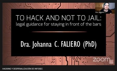 Hacking y despenalización de infosec