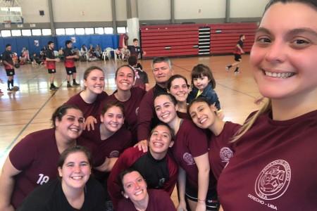 Handball femenino interfacultades
