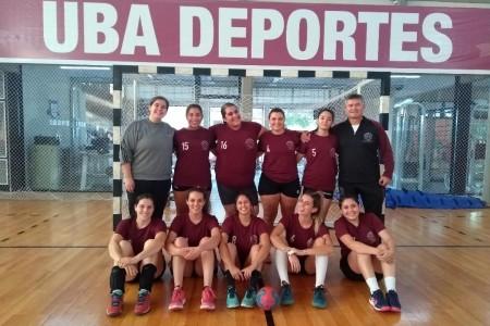 Handball femenino. Torneo interfacultades