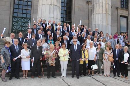 Homenaje a la promoción 1969 en su 50 aniversario de graduación
