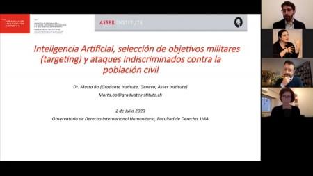 Inteligencia artificial, selección de objetivos militares (targeting) y ataques indiscriminados contra la población civil