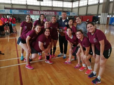 Interfacultades 2019. Comienzo auspicioso en Handball femenino y masculino