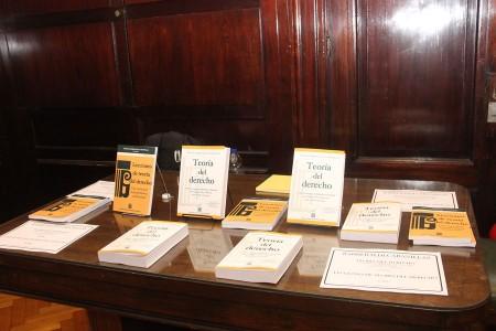 Presentación del libro Teoría del Derecho 4.a edición