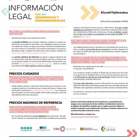 Seguimos relevando información legal en el marco de la Emergencia Sanitaria COVID-19