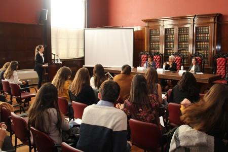 Sesión abierta de práctica del equipo de la Facultad para el Concurso Interamericano de Derechos Humanos