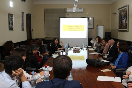 """Tercer encuentro del taller """"El enfoque de género en la Enseñanza del Derecho. Aproximaciones desde el Derecho del Trabajo"""""""