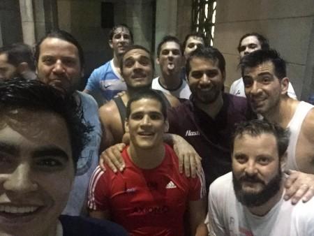 UBA Derecho rugby - Fotos entrenamiento de Los Rinos