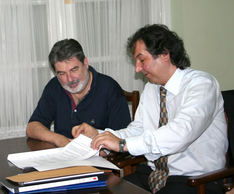 Carlos M. Cárcova y Martín Ferré
