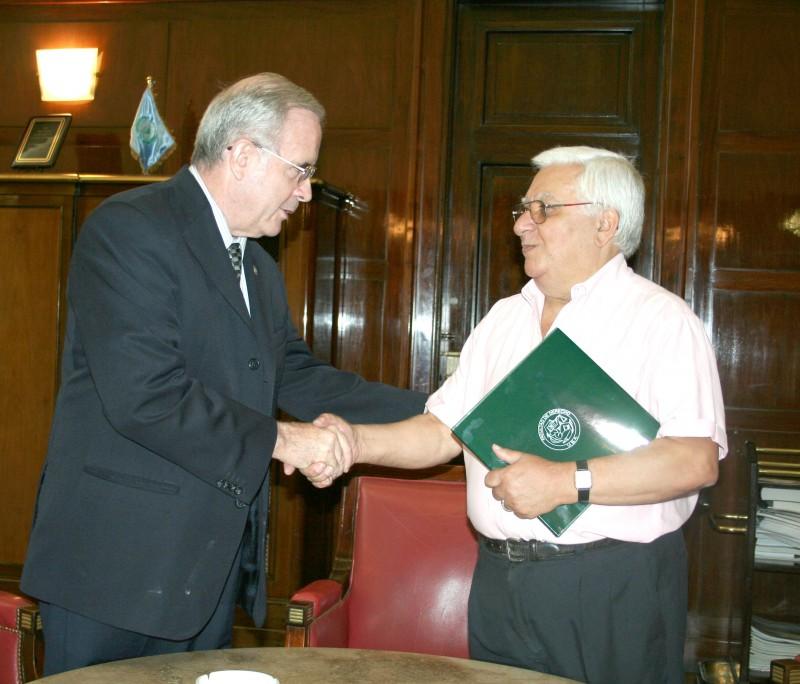 Tulio Ortiz y Mario Botana
