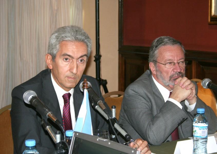 Carlos M. Correa y Germán Velásquez