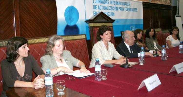 Mirtha Federico, Mariana Fiorito, Silvana Marchetti, Atilio Alterini, Silvana Debonis, Karina D'Emilio y María Elena Nuñez Valle