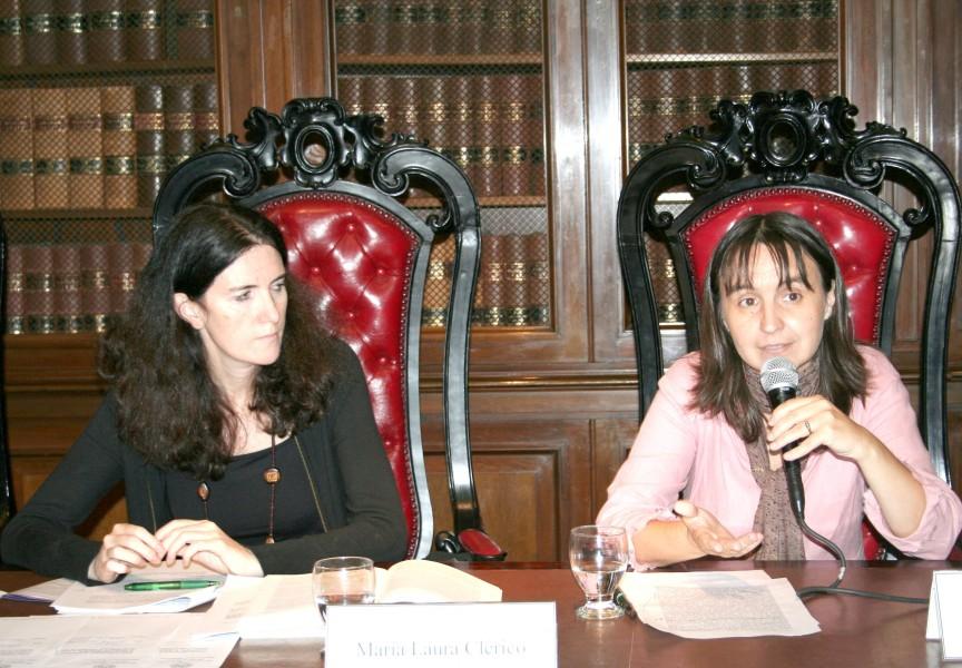 María Laura Clérico y Nancy Cardinaux