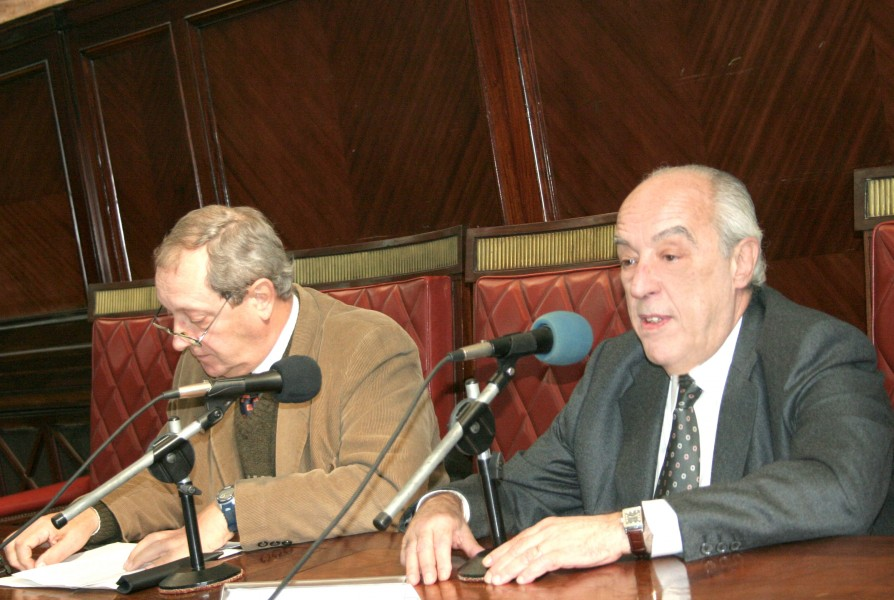 Enrique Falcón y Atilio Alterini