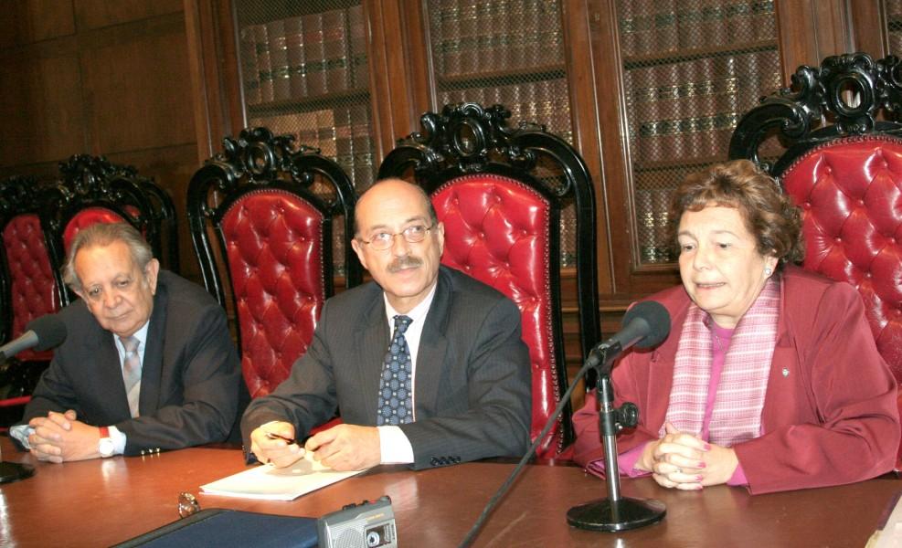 Salvador D. Bergel, Carlos María Romeo Casabona y Stella Maris Martínez
