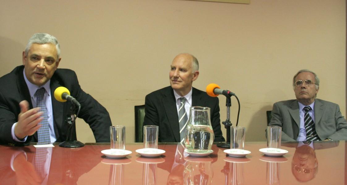 Enrique Zuleta Puceiro, Frans Van Eemeren y Tulio Ortiz