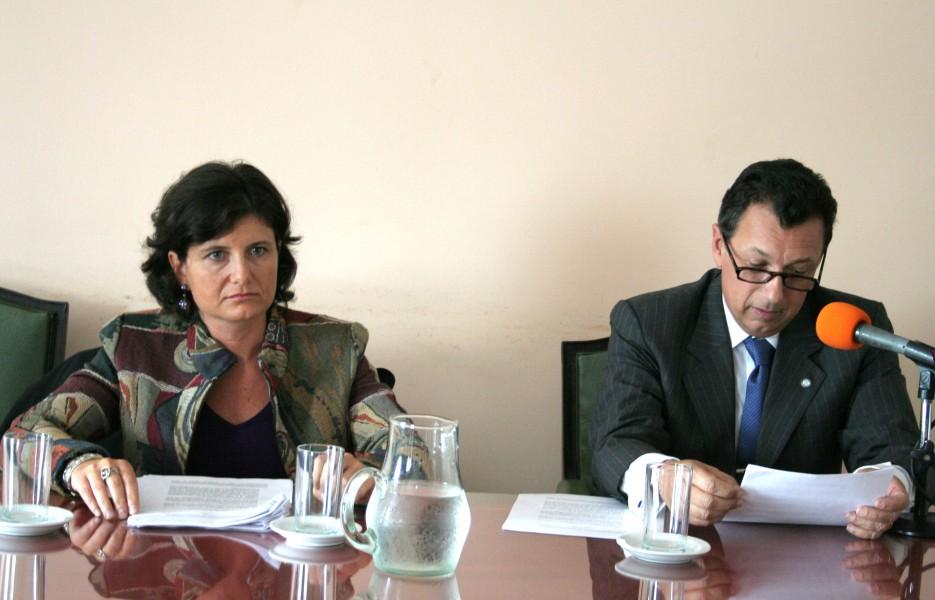 Ana Gardella y Alberto Dalla Vía