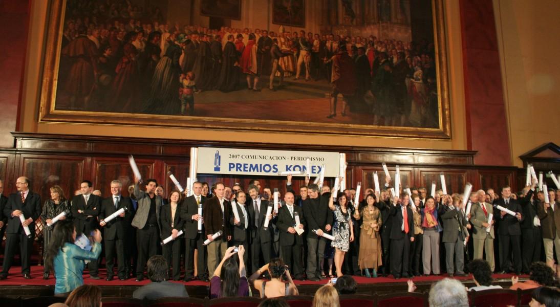Periodistas distinguidos en la nueva edición de los Premios Konex