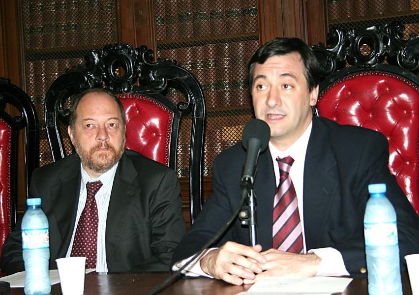 Gabriele Fornasari y Daniel Pastor