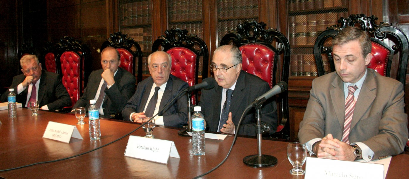 Julio B. J. Maier, Eugenio R. Zaffaroni, Atilio A. Alterini, Esteban Righi y Marcelo Sgro