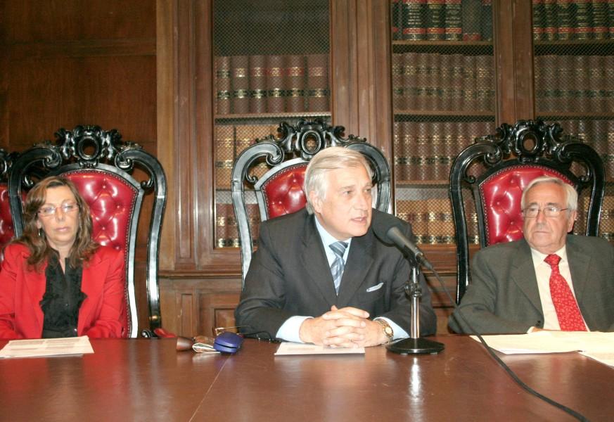 Adriana García Netto, Haroldo Gavernet y Gerardo Turiel de Castro