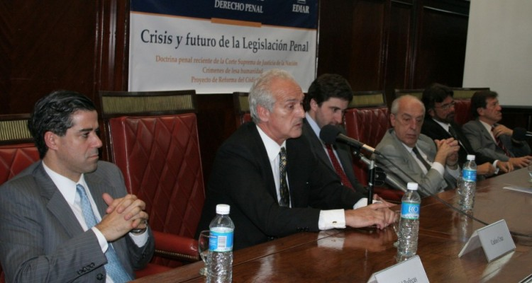 Daniel Rafecas, Carlos Cruz, Carlos Mas Velez, Atilio Alterini, Daniel Erbetta y José Buteler