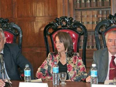 Enrique Zuleta Puceiro, Gladys Alvarez y Ramón Brenna