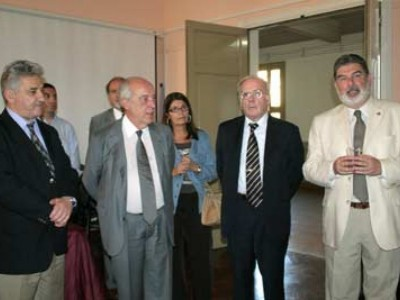 Hugo Sirkin, Atilio Alterini, Mirta Gariglio, Tulio Ortiz y Carlos Cárcova