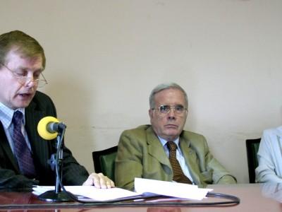 Dino Bellorio Clabot, Tulio Ortiz y Marta Andrich de Álvarez