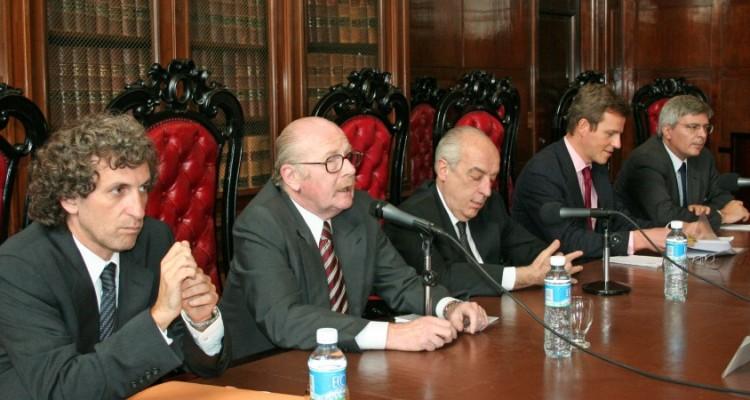 Marcos Salt, Daniel R. Altmark, Atilio Alterini, Jean Charles Cordes y Gilberto Martins de Almeida