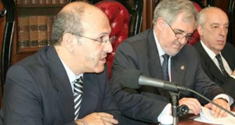 Javier De Luca, Cándido Conde-Pumpido Tourón y Atilio Alterini