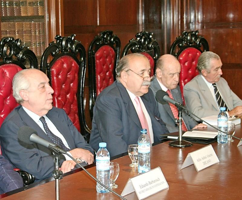 Atilio Alterini, José O. Casás, Horacio García Belsunce y José L. Shaw
