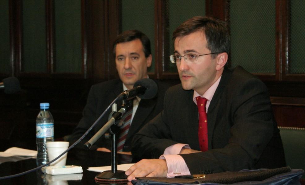 Daniel Pastor y Eduardo Demetrio Crespo