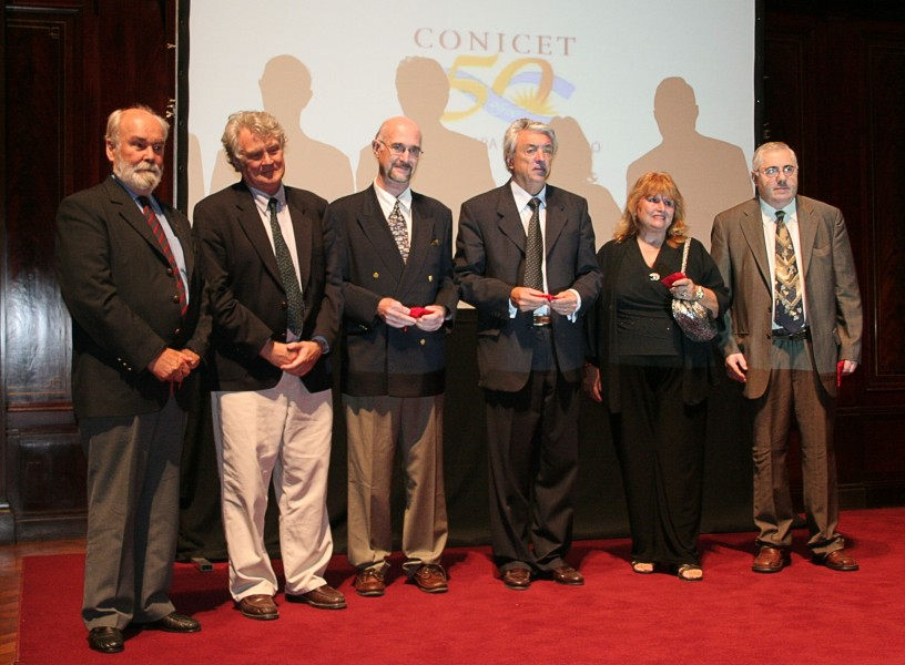 El CONICET premió la trayectoria de sus primeros investigadores