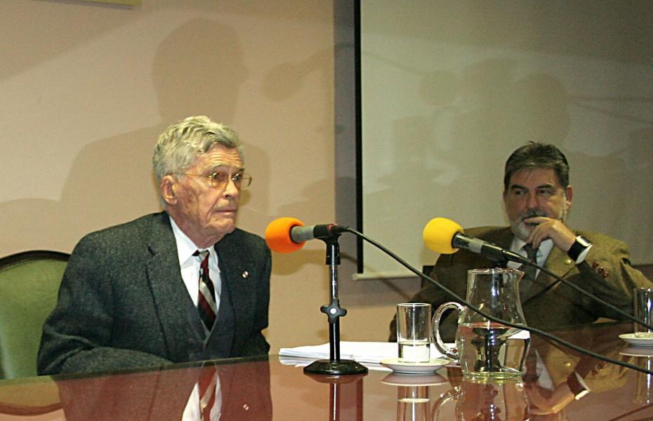 Mario Bunge y Carlos M. Cárcova
