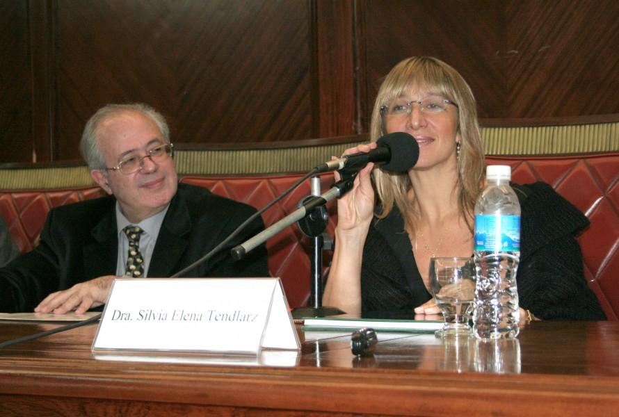 Jacques-Alain Miller y Silvia Elena Tendlarz