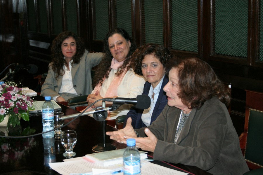Mary Beloff, Diana Maffia, Beatriz Kohen y Nelly Minyersky